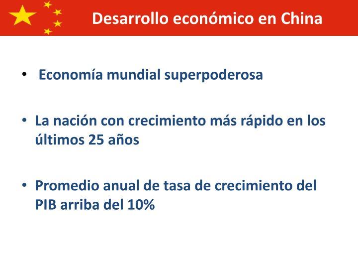 Economía mundial superpoderosa