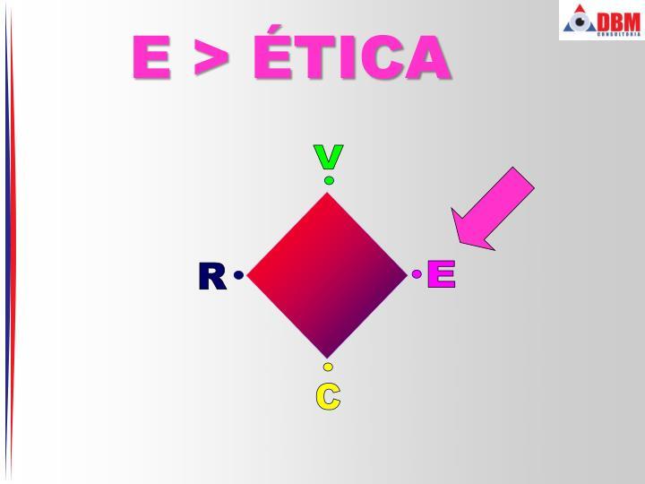 E > ÉTICA
