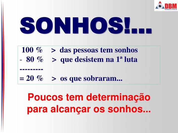 SONHOS!...