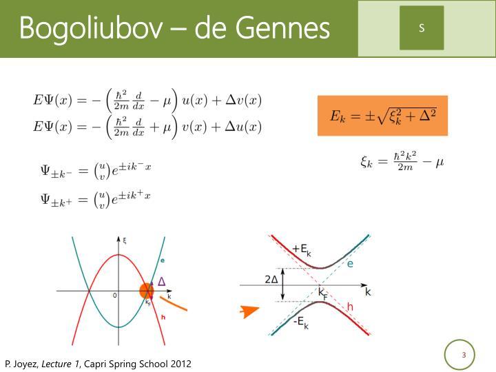 Bogoliubov – de Gennes