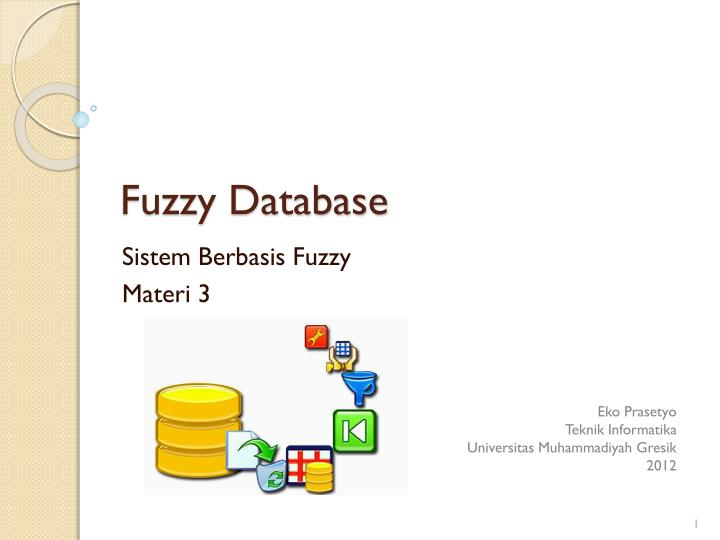 Fuzzy database