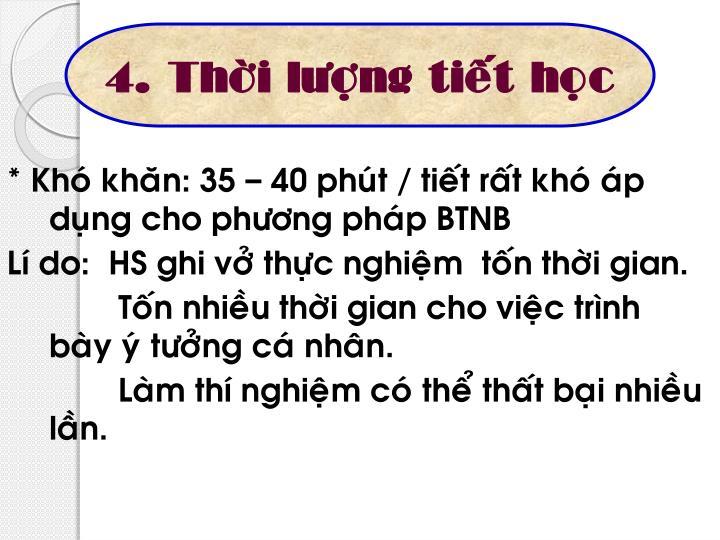 4. Thôøi löôïng tieát hoïc