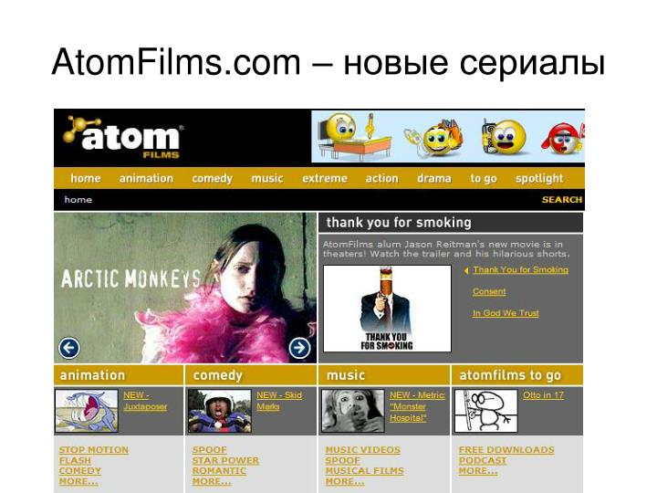 AtomFilms.com –