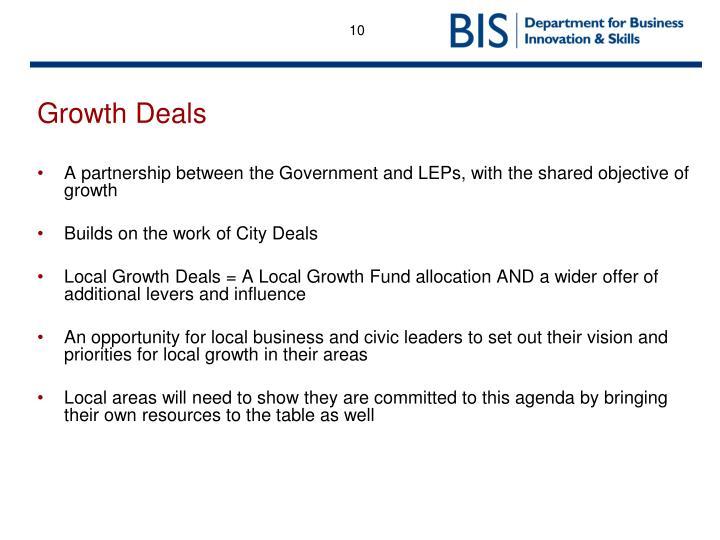 Growth Deals