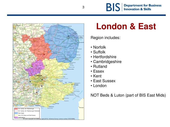London & East