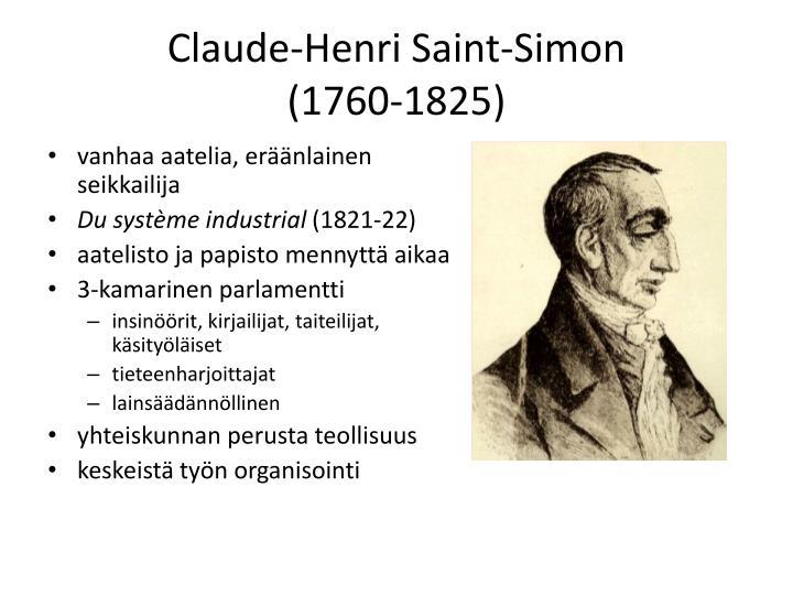 Claude-Henri Saint-Simon