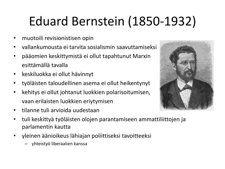 Eduard Bernstein (1850-1932)