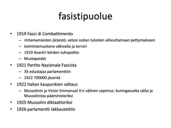 fasistipuolue