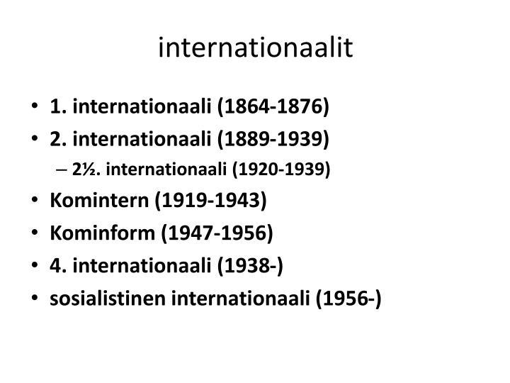 internationaalit