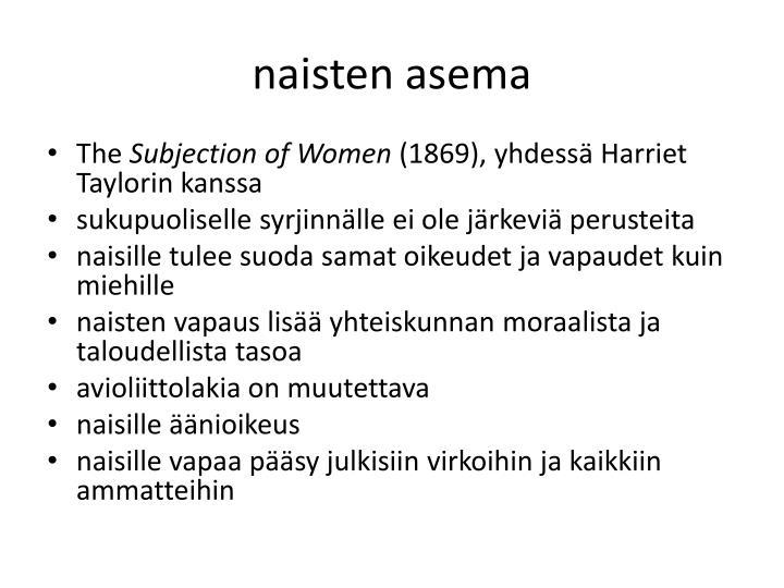 naisten asema