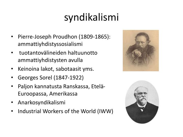 syndikalismi