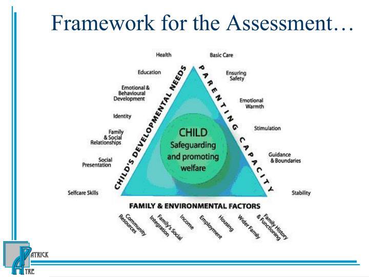 Framework for the Assessment…