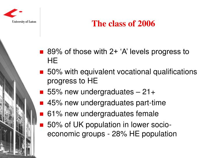 The class of 2006