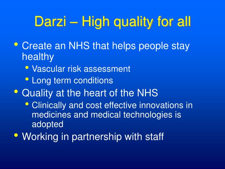 Darzi – High quality for all