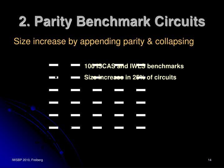 2. Parity Benchmark Circuits