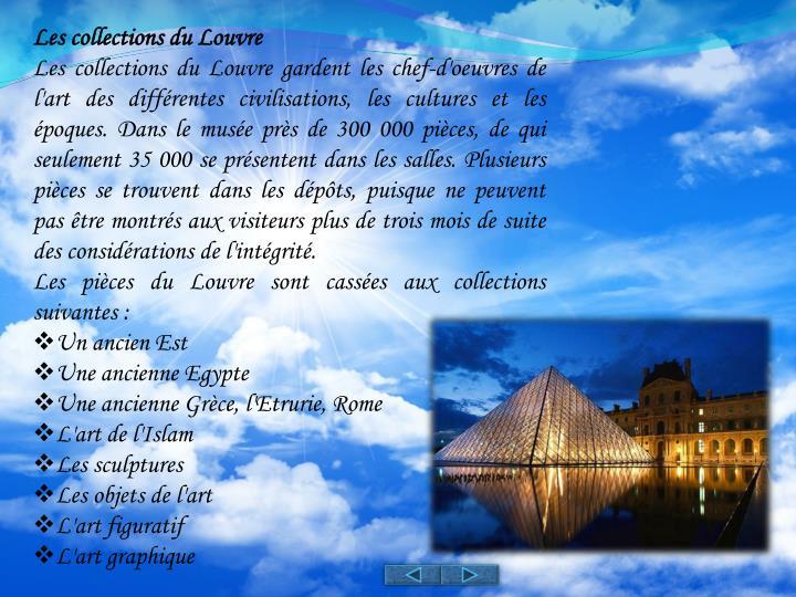 Les collections du Louvre