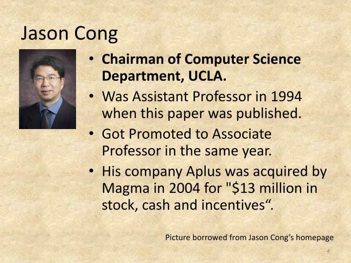 Jason Cong