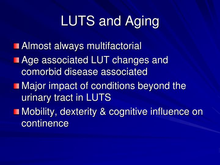 LUTS and Aging