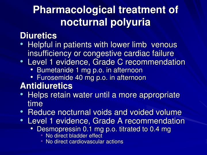 Pharmacological treatment of