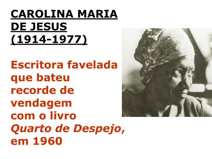 CAROLINA MARIA