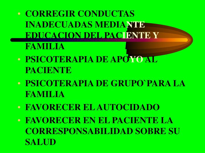 CORREGIR CONDUCTAS INADECUADAS MEDIA