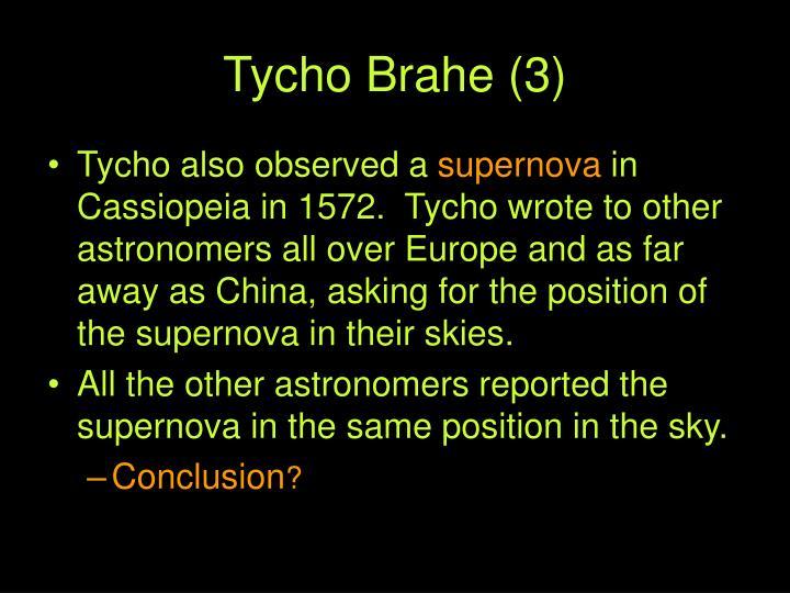 Tycho Brahe (3)