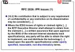 rfc 2026 ipr issues 1