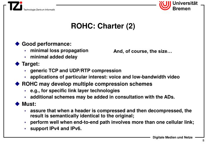 ROHC: Charter (2)