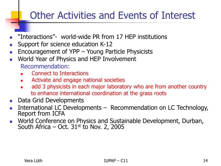 """""""Interactions""""-  world-wide PR from 17 HEP institutions"""