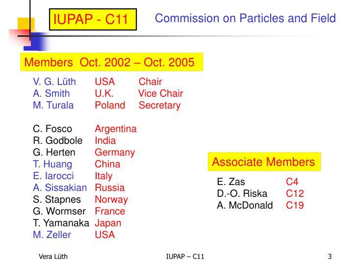 IUPAP - C11