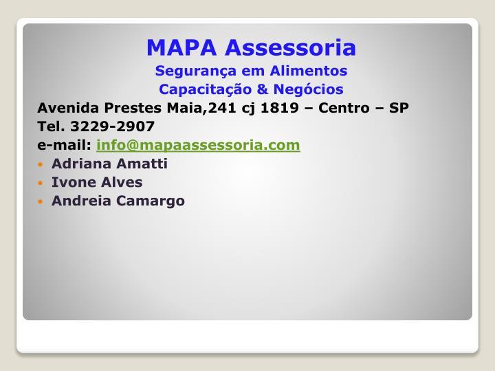 MAPA Assessoria