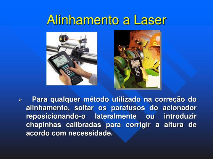 Alinhamento a Laser
