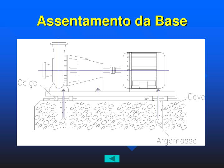 Assentamento da Base