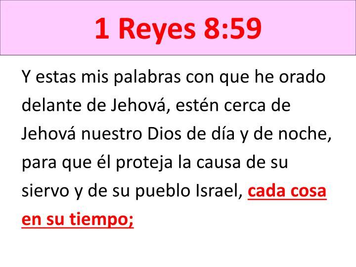 1 Reyes 8:59