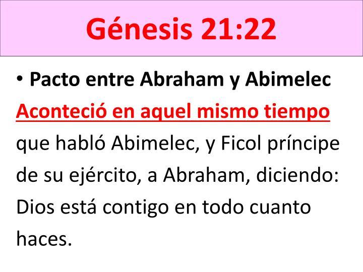 Génesis 21:22