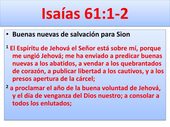 Isaías 61:1-2