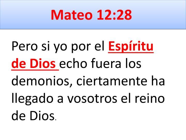Mateo 12:28
