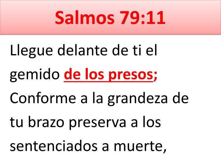 Salmos 79:11