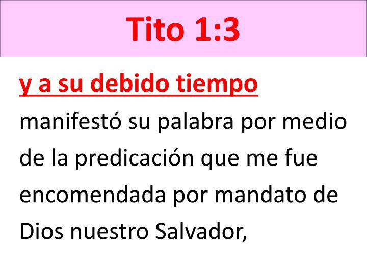 Tito 1:3