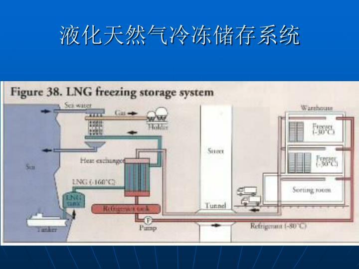 液化天然气冷冻储存系统