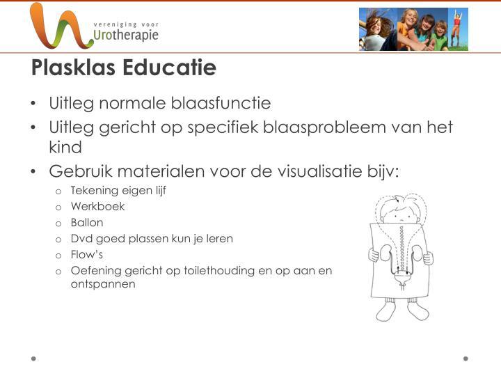 Plasklas Educatie