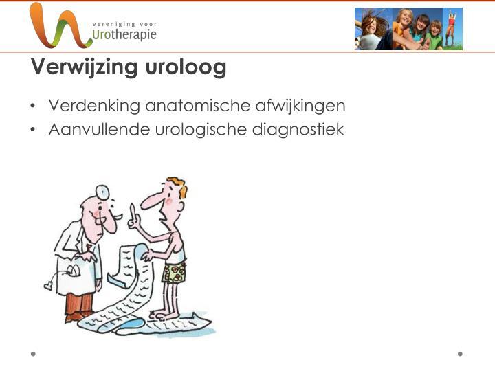 Verwijzing uroloog