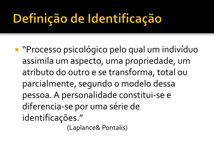 Definição de Identificação