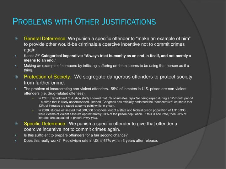 Problems with Other Justifications