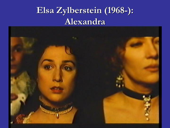 Elsa Zylberstein (1968-):