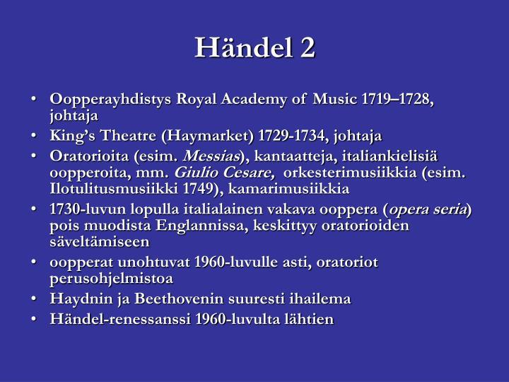 Händel 2