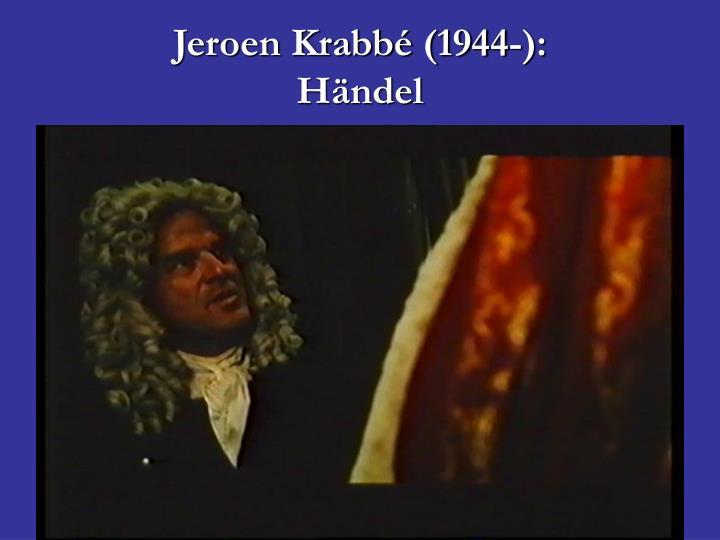 Jeroen Krabbé (1944-):