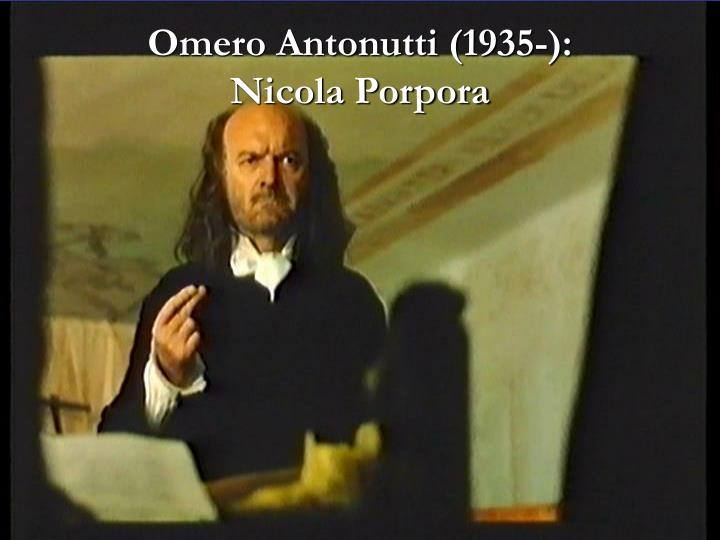 Omero Antonutti (1935-):