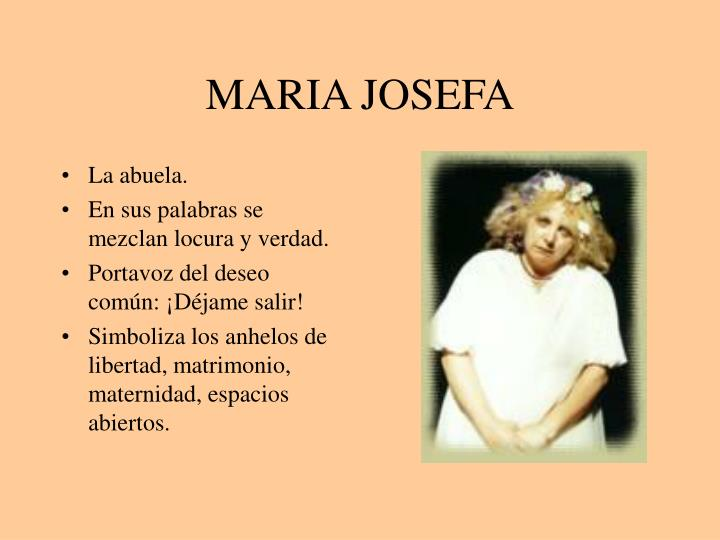 MARIA JOSEFA