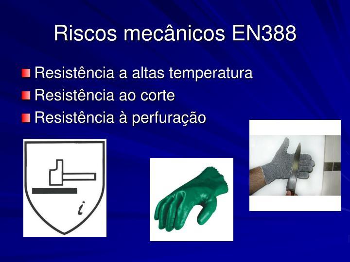 Riscos mecânicos EN388